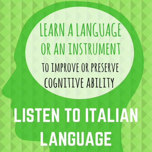 Listen to Italian: LEARN A LANGUAGE OR INSTRUMENT