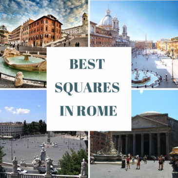 """6 Best """"PIAZZAS"""" in Rome"""