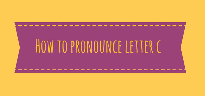 I suoni dell'italiano – How to pronounce Letter C