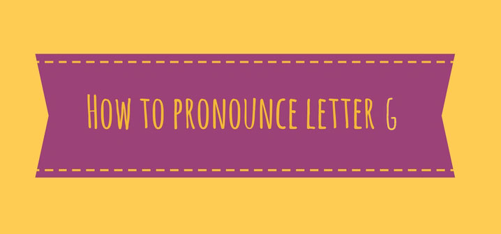 How to Pronounce Letter G in Italian Language