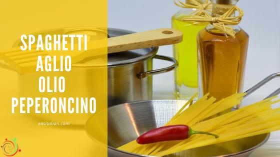 How to cook Spaghetti Aglio Olio e Peperoncino