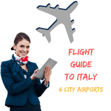 Flight Guide to Italy 6 City Airports Info