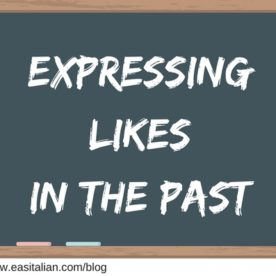 Expressing Likes in the Past