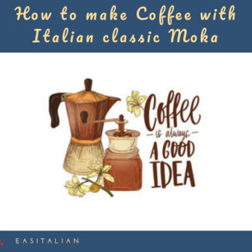 How to make Coffee with Italian classic Moka