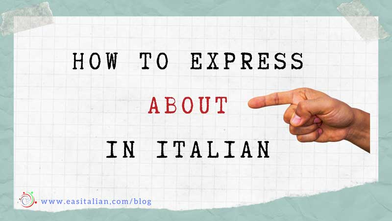 express about in italian