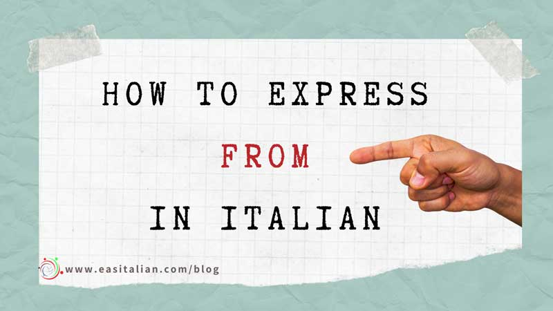 express from in Italian