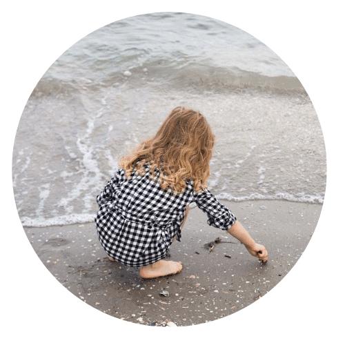 da bambina andavo in vacanza al mare