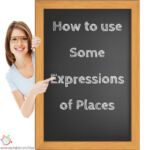 expressions of places